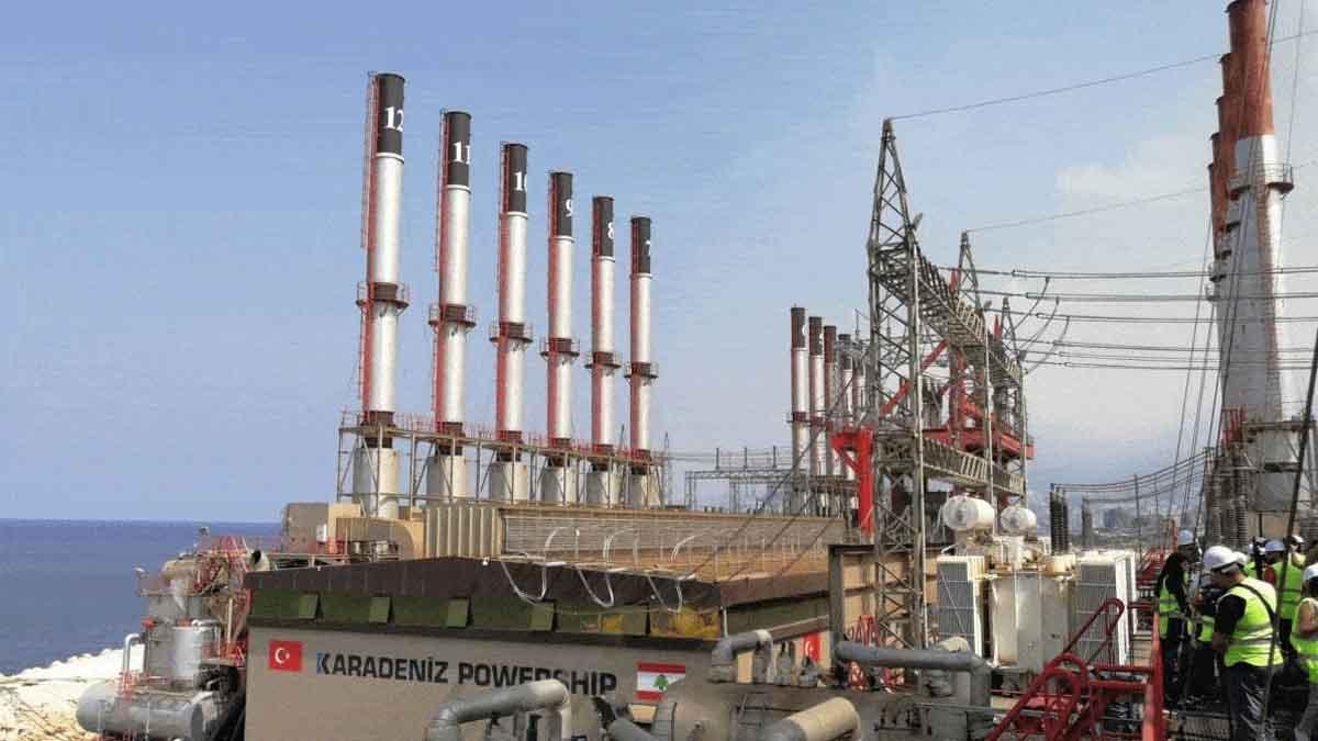 Công ty Karpowership ngừng cung cấp điện cho Lebanon