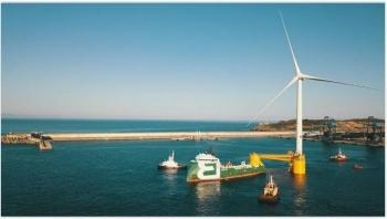 Lắp đặt thành công tuabin gió nổi TetraSpar ngoài khơi Na Uy