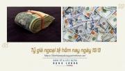 Tỷ giá ngoại tệ hôm nay ngày 19/9: Đồng USD giữ mức giao dịch ổn định