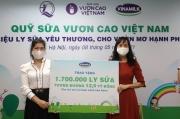 """""""Cùng góp điểm xanh, cho Việt Nam khỏe mạnh"""" - Hoạt động của Vinamilk để mang 1 triệu ly sữa cho trẻ em khó khăn"""