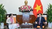 Bộ trưởng Ngoại giao Bùi Thanh Sơn tiếp Đại sứ New Di-lân tại Việt Nam