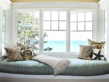Thơ mộng và thư giãn với thiết kế ghế ngồi bên cửa sổ