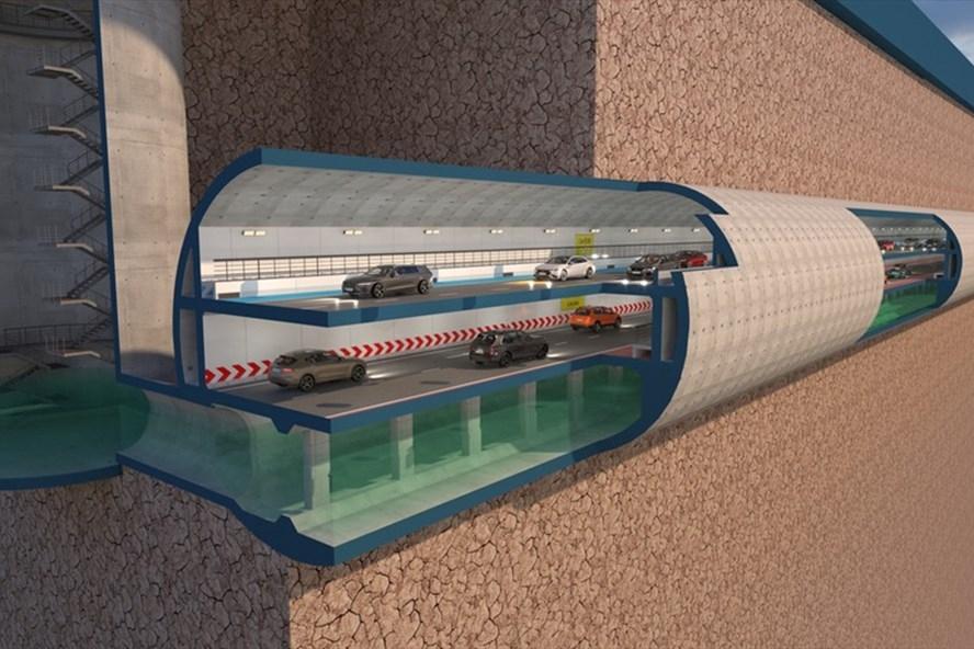 Phương án khả thi để xây dựng đường hầm cao tốc dưới sông Tô Lịch?