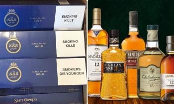 Từ 15/5/2021: Các mặt hàng thuốc lá, rượu sẽ phải dán tem điện tử