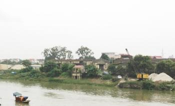 Bắc Giang: Tăng cường xử lý vi phạm khai thác khoáng sản, bảo vệ đê điều