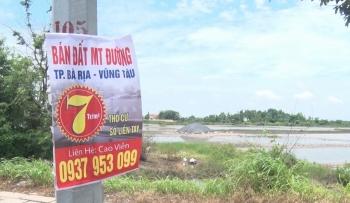 Bà Rịa - Vũng Tàu: Tăng cường kiểm tra, xử lý tình trạng phân lô bán nền trên đất nông nghiệp
