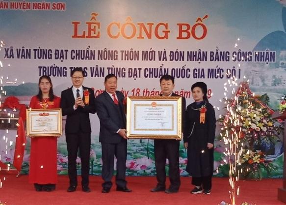 Bắc Kạn: Điều chỉnh mở rộng quy hoạch chung xây dựng trung tâm xã Vân Tùng