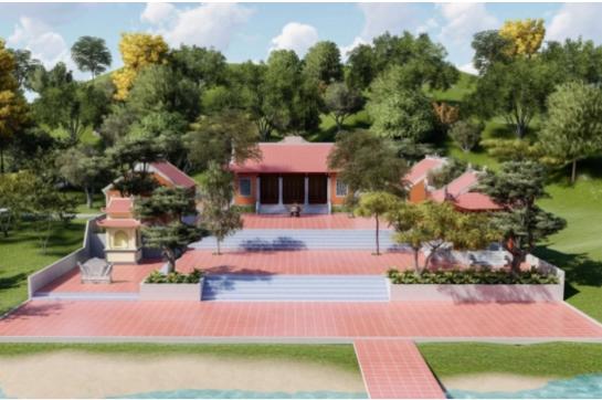 Sẽ xây dựng đền thờ anh hùng liệt sỹ tại lòng hồ Kẻ Gỗ
