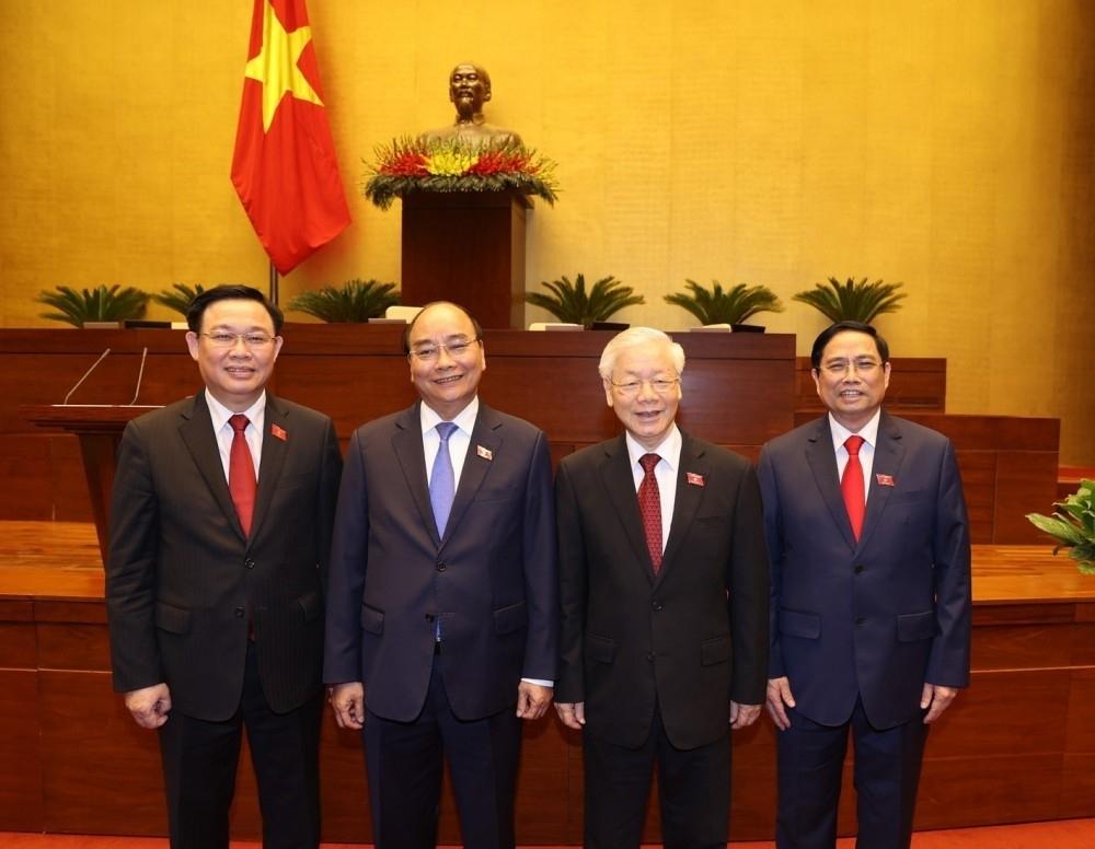 Lãnh đạo Lào, Trung Quốc gửi điện chúc mừng lãnh đạo cấp cao Việt Nam