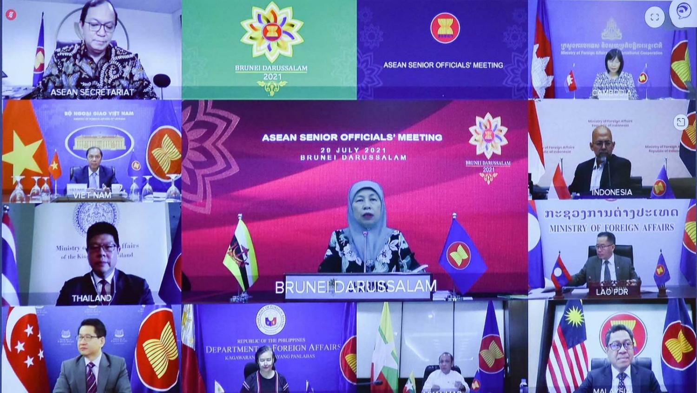 Hội nghị các Quan chức cao cấp ASEAN chuẩn bị cho Hội nghị Bộ trưởng Ngoại giao ASEAN lần thứ 54