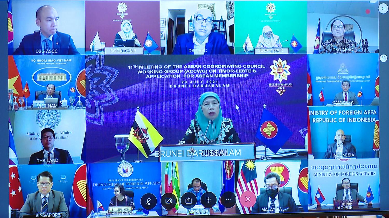 Cuộc họp lần thứ 11 Nhóm công tác Hội đồng điều phối ASEAN về việc Timor Leste xin gia nhập ASEAN