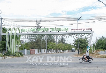 Ninh Thuận: Phát hiện hàng loạt tồn tại, hạn chế tại Dự án xử lý nước thải, giao thông nội bộ KCN Thành Hải
