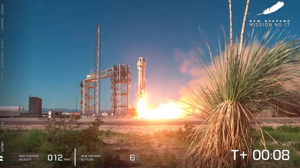 Blue Origin phóng thành công tàu thử nghiệm khoa học để đổ bộ lên mặt trăng