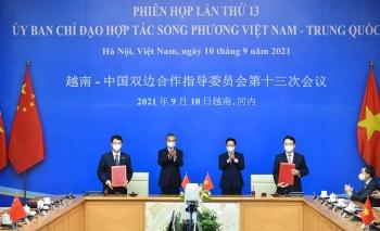 Phiên họp lần thứ 13 Ủy ban chỉ đạo hợp tác song phương Việt Nam - Trung Quốc