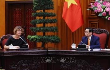 Thủ tướng Chính phủ Phạm Minh Chính tiếp Đại sứ Hà Lan Elsbeth Akkerman