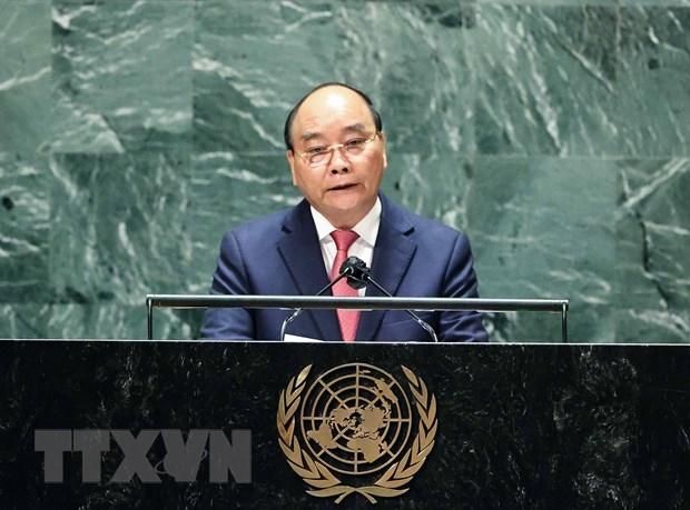 越南国家主席阮春福在联合国大会第76届会议一般辩论上的讲话