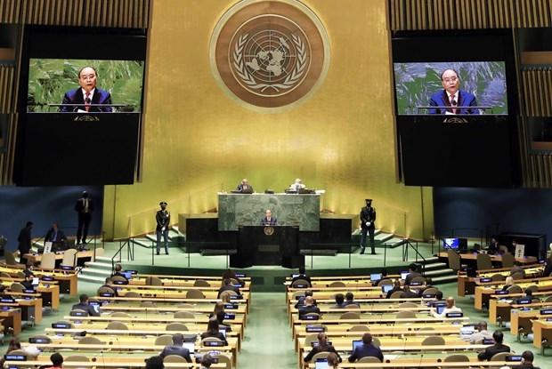 Chủ tịch nước tham dự và phát biểu tại Hội nghị thượng đỉnh về đại dịch COVID-19