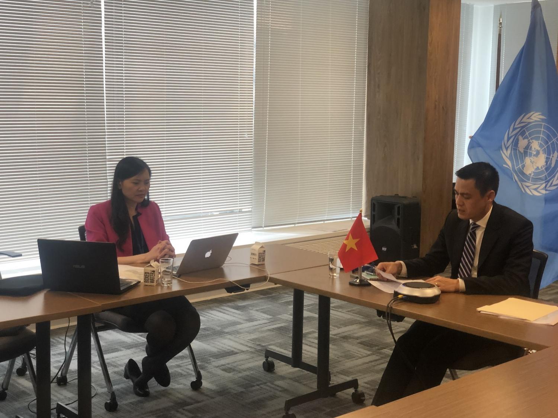 Bộ trưởng Ngoại giao Bùi Thanh Sơn gặp gỡ song phương với Ngoại trưởng các nước
