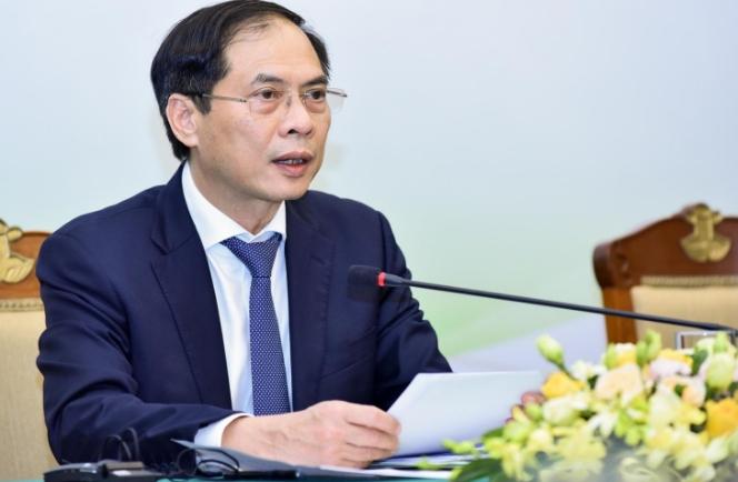 Bộ trưởng Bùi Thanh Sơn trả lời báo chí về chuyến công tác của Chủ tịch nước và Đoàn đại biểu cấp cao Việt Nam tại Cuba và Hoa Kỳ