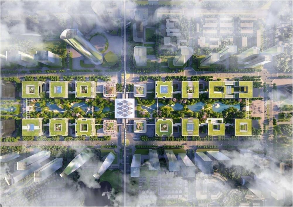 """""""Trung tâm mới của Hà Nội"""" có diện mạo như thế nào qua các phương án đạt giải?"""