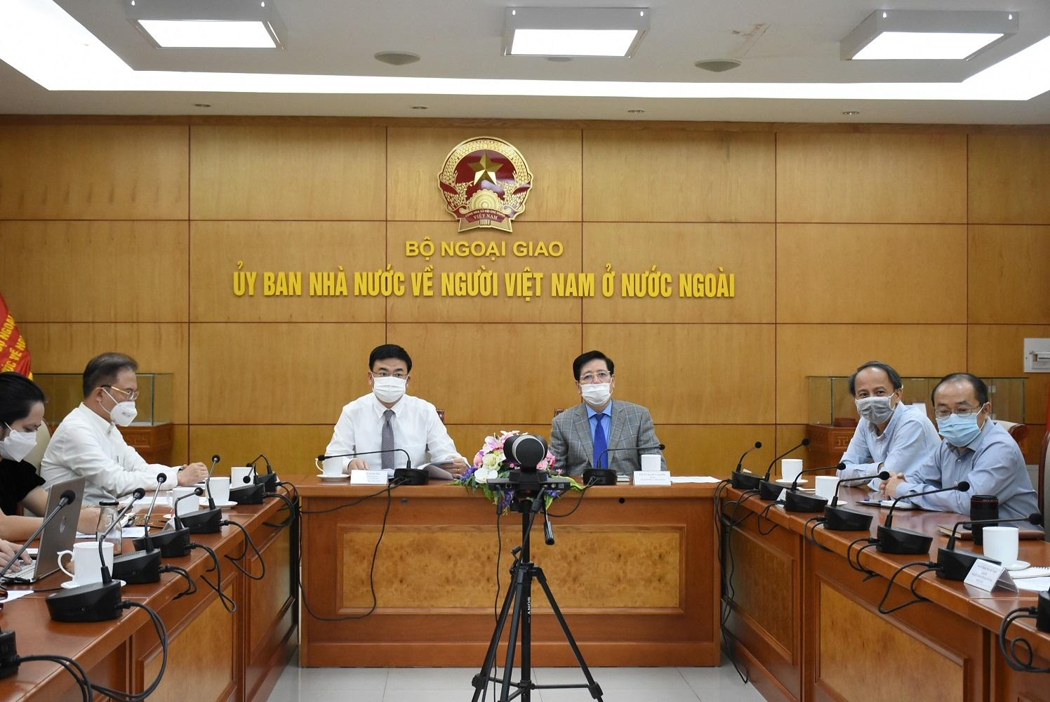 """Tọa đàm trực tuyến """"Doanh nhân kiều bào với mạng lưới tiêu thụ hàng Việt Nam ở nước ngoài"""""""