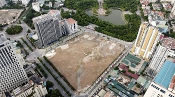 Toàn cảnh khu đất sắp xây trụ sở Đại sứ quán Mỹ
