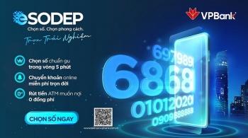 Tin nhanh ngân hàng ngày 9/4: VPBank miễn phí đăng ký trực tuyến tài khoản số đẹp