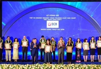 Tin nhanh ngân hàng ngày 1/5: Ngân hàng Sài Gòn được vinh danh top 50 doanh nghiệp tăng trưởng xuất sắc