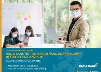 Tin nhanh ngân hàng ngày 19/7: Ngân hàng Bắc Á ưu đãi lãi suất cho doanh nghiệp