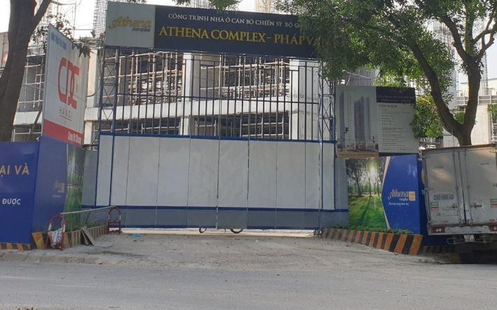 Sở Xây dựng Hà Nội: Dự án Athena Complex Pháp Vân chưa đủ điều kiện mở bán theo quy định