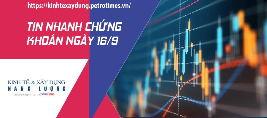 Tin nhanh chứng khoán ngày 16/9: VN Index giữ được sắc xanh nhẹ, không có bất ngờ trong phiên đáo hạn chứng khoán phái sinh