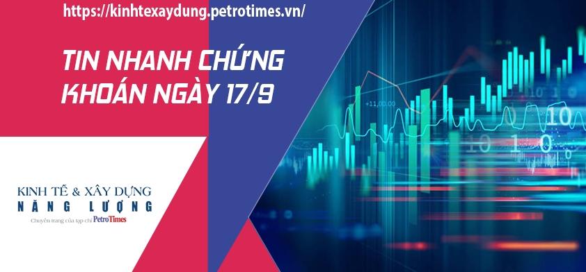Tin nhanh chứng khoán ngày 17/9: VN Index chinh phục thành công mốc 1.350 điểm