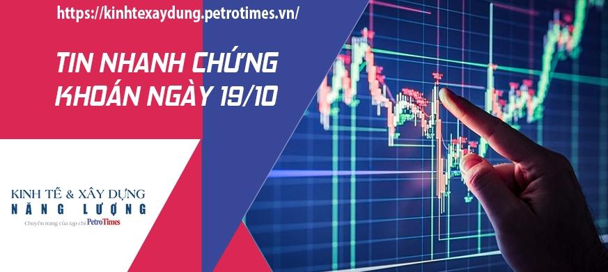 Tin nhanh chứng khoán ngày 19/10: VN Index thực sự gặp khó trước mốc 1.400 điểm
