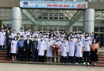 Bệnh viện K tiếp tục xuất quân lần 5 chi viện miền Nam phòng chống dịch