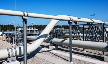 Nord Stream 2 bắt đầu nạp khí chuẩn bị bơm đến EU