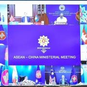 Hội nghị Bộ trưởng Ngoại giao ASEAN-Trung Quốc về chống đại dịch, thương mại, đầu tư và Biển Đông
