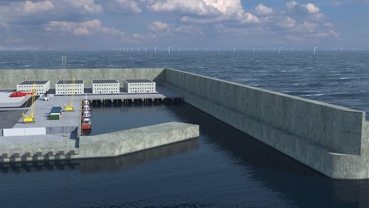 Đan Mạch xây đảo nhân tạo hàng tỷ USD để thu thập năng lượng gió