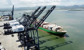 Cảng CICT Cái Lân tiếp nhận tàu container của hãng tàu lớn nhất thế giới