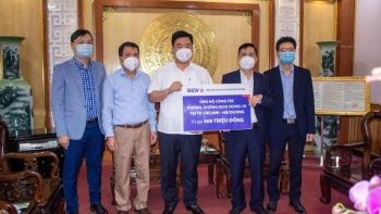 BIDV tiếp tục ủng hộ khẩn cấp 2,8 tỷ đồng phòng, chống dịch Covid-19
