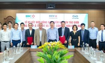 Bảo hiểm BIDV (BIC) và TMT ký kết hợp đồng bảo hiểm nguyên tắc