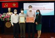 BIDV ủng hộ 10 tỷ đồng phòng, chống dịch COVID-19 tại TP HCM