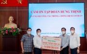 Tập đoàn Hưng Thịnh hỗ trợ khẩn hàng chục tỷ đồng cho TP HCM phòng, chống dịch Covid-19