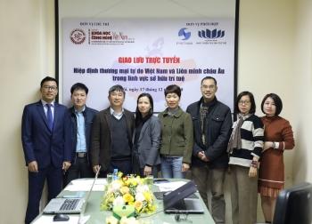 Giao lưu trực tuyến: Hiệp định thương mại tự do Việt Nam và liên minh Châu Âu (EVFTA) trong lĩnh vực sở hữu trí tuệ