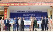"""EVNNPC trao tặng quà tại Trường Tiểu học Hợp Thịnh số 2, huyện Hiệp Hòa tỉnh Bắc Giang nhân """"Tháng tri ân khách hàng"""""""