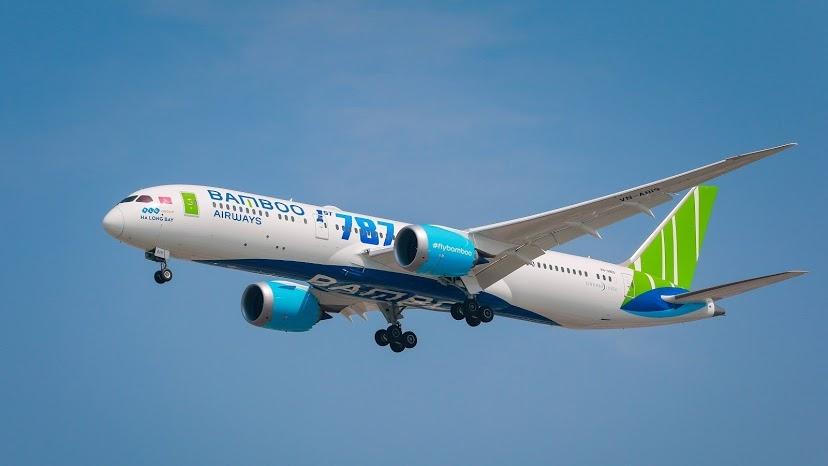 Lượng khai thác tuần đường bay Hà Nội - TP.HCM của Bamboo Airways lần đầu vào top 2